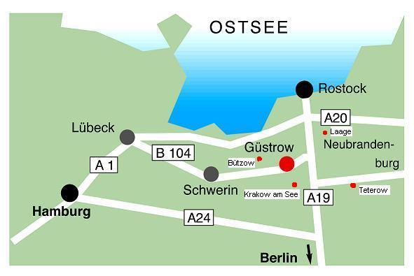 Güstrow Karte.Landkarte Mecklenburg Vorpommern Güstrow In Mecklenburg Vorpommern